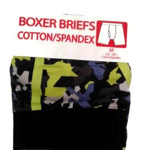 Men's boxer briefs spandex M 32 34 Neon green
